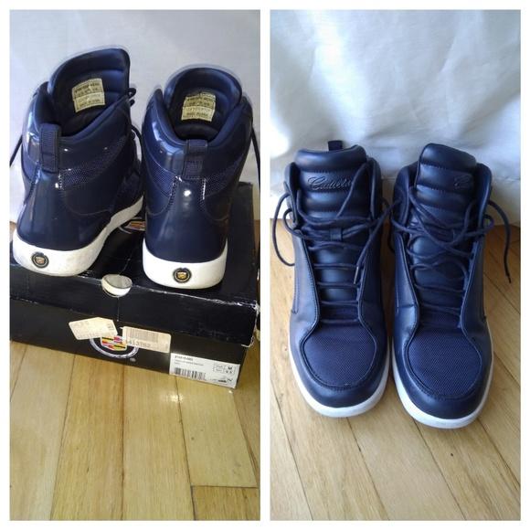 Cadillac Shoes | Mens Blue Cadillac